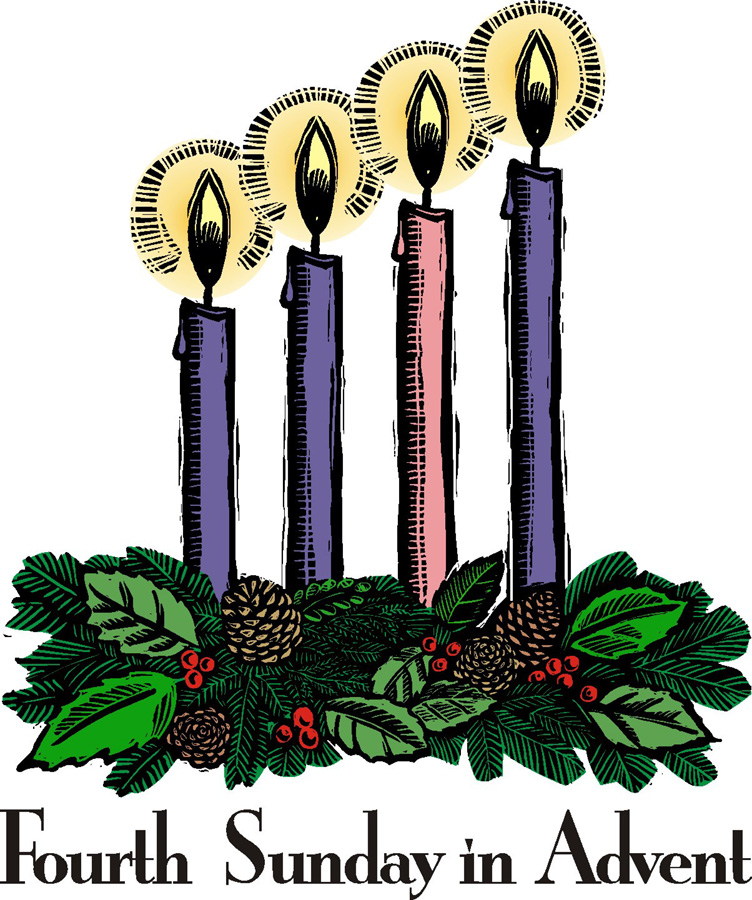 4th Sunday Of Advent Clipart.