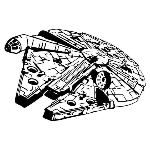 Star Wars Millennium Falcon.