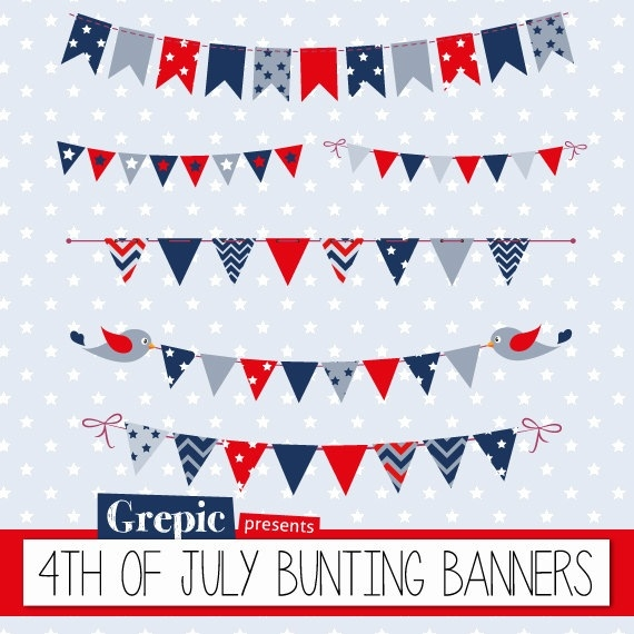 4Th Of July Banners.