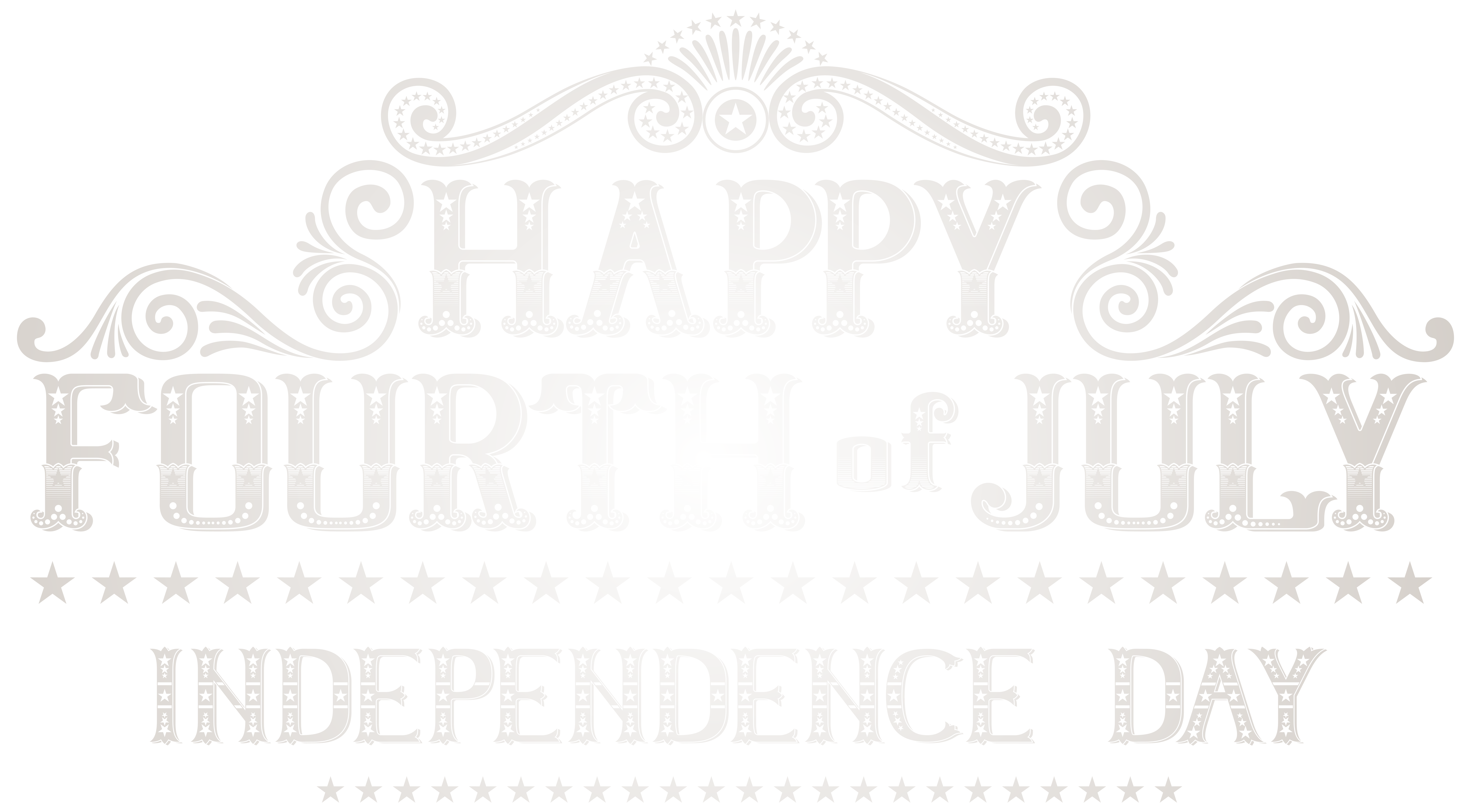Happy 4th of july clipart black and white clipart images gallery for.