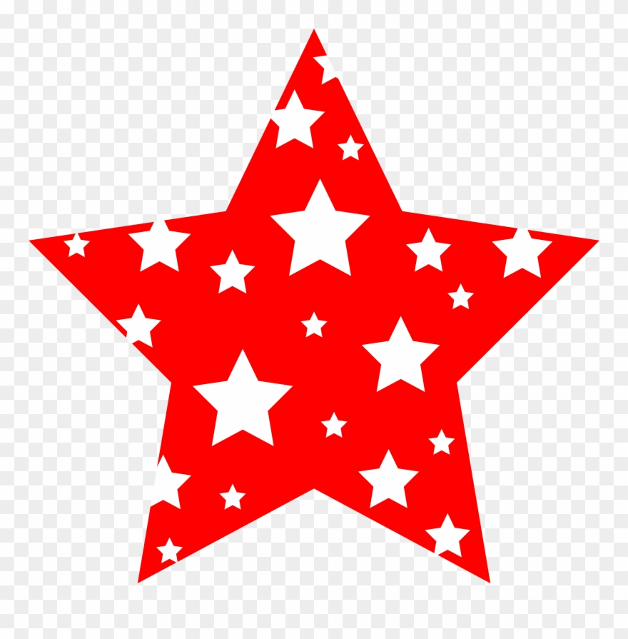 Clipart Star 4th July New Year Red Clip Art Stars.