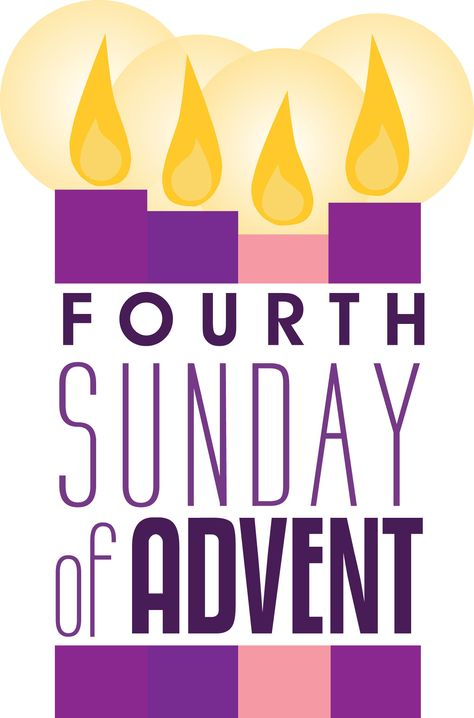 fourth sunday advent clipart.