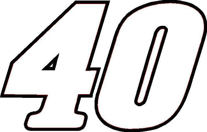 Number 40 Clipart.
