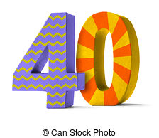 Number 40 Illustrations and Clipart. 1,211 Number 40 royalty free.
