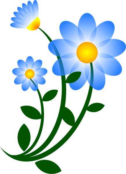 Free daisy flower clipart.