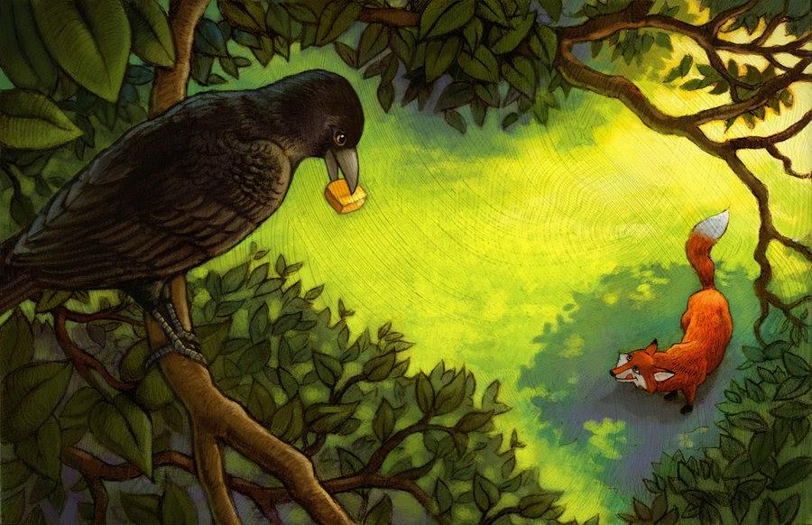 Nidya's BCT Diary: The Fox And The Crow.