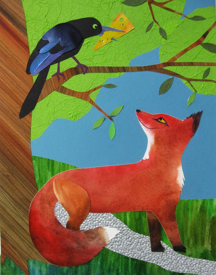 Ninja Woman: The Fox and The Crow.