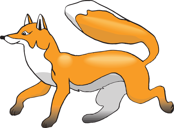 Cute Fox Clipart.