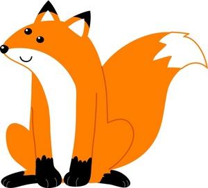 Cute Fox Clipart.