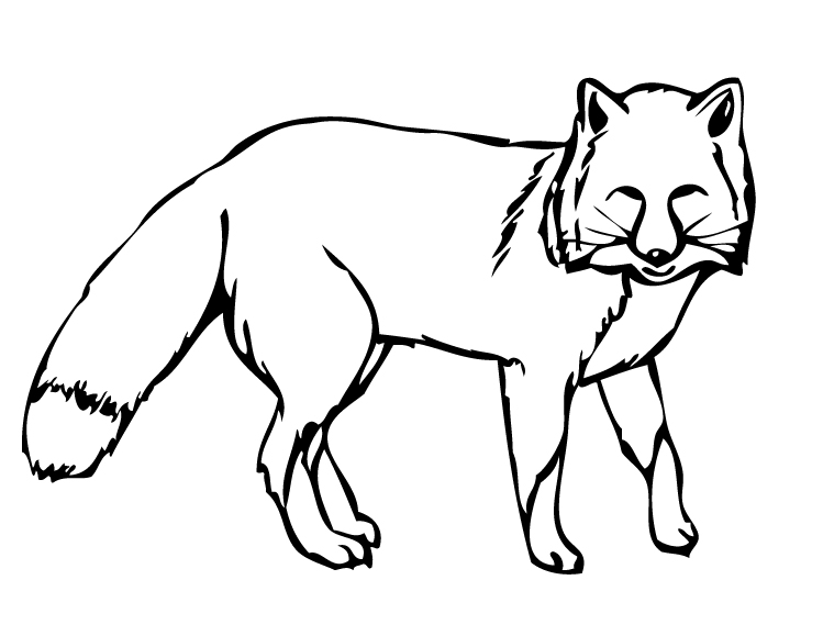 Free Fox Clipart Black And White, Download Free Clip Art.