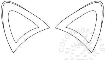 4383 Ears free clipart.