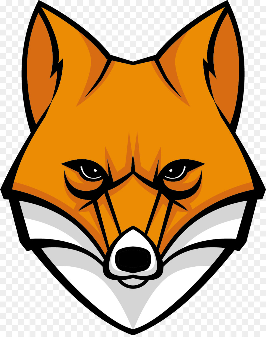 Fox Cartoon clipart.