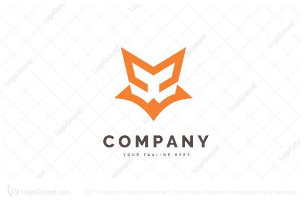 Exclusive Logo 106949, Fox Head Logo.