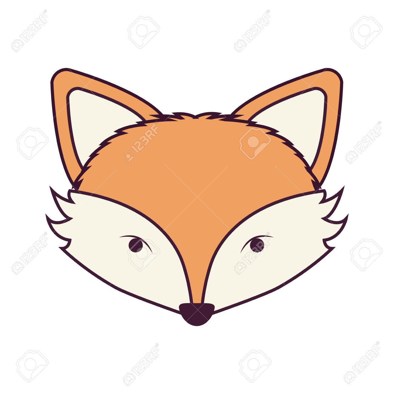 Fox Face Clipart.