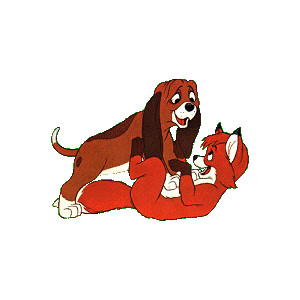 DisneySites!! Clipart > Movies > Fox and the Hound >.