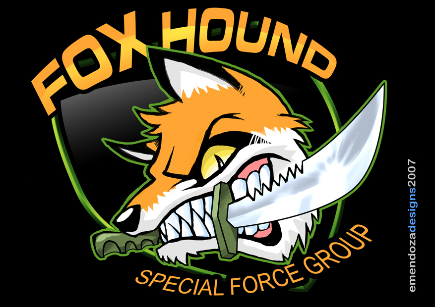 Free download Foxhound Logo by TORA KUN [877x620] for your.