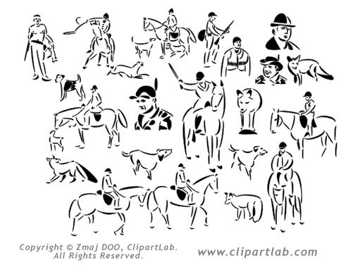 Hunt Clipart.