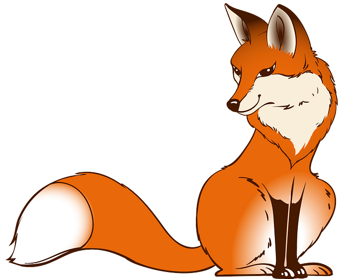 Fox clipart. Free download..