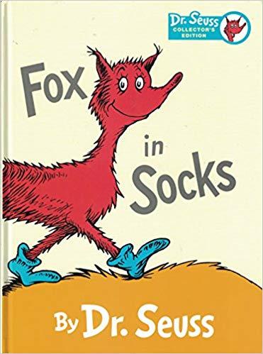 Fox in Socks (Collector\'s Edition): Amazon.com: Books.