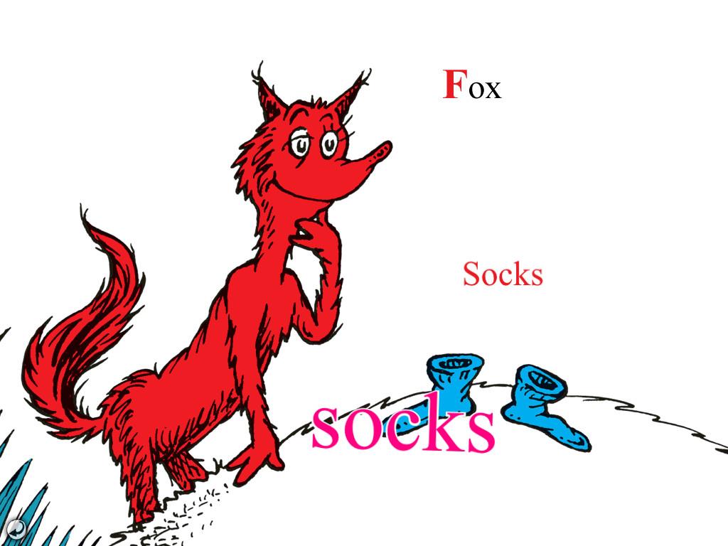 Fox in socks clipart 6 » Clipart Station.