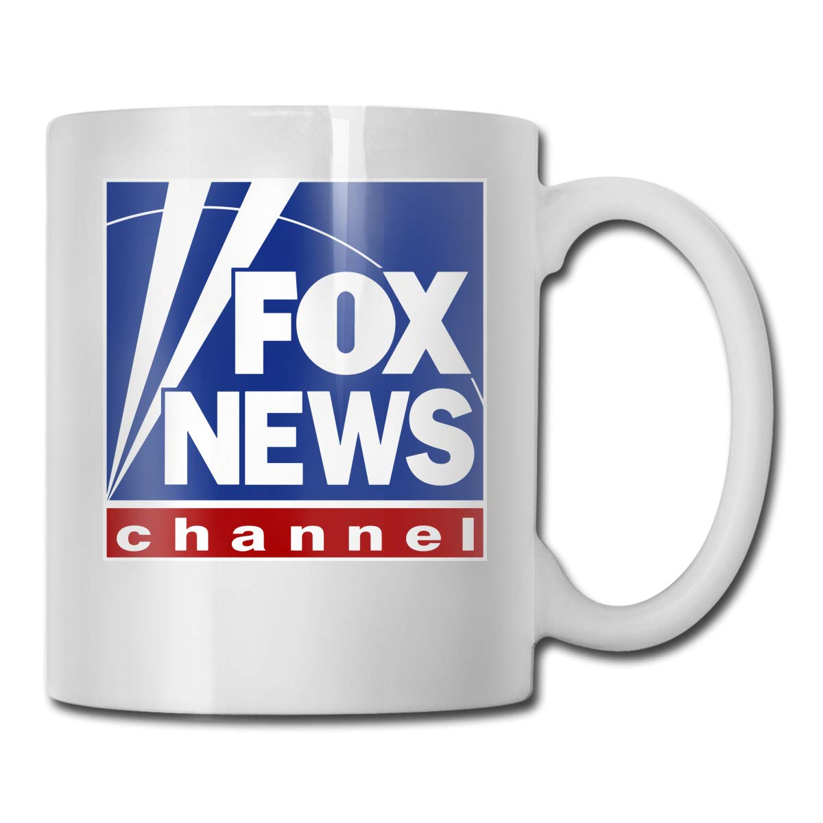 Amazon.com: Fox News Channel Logo Cool Coffee Mugs 11oz.