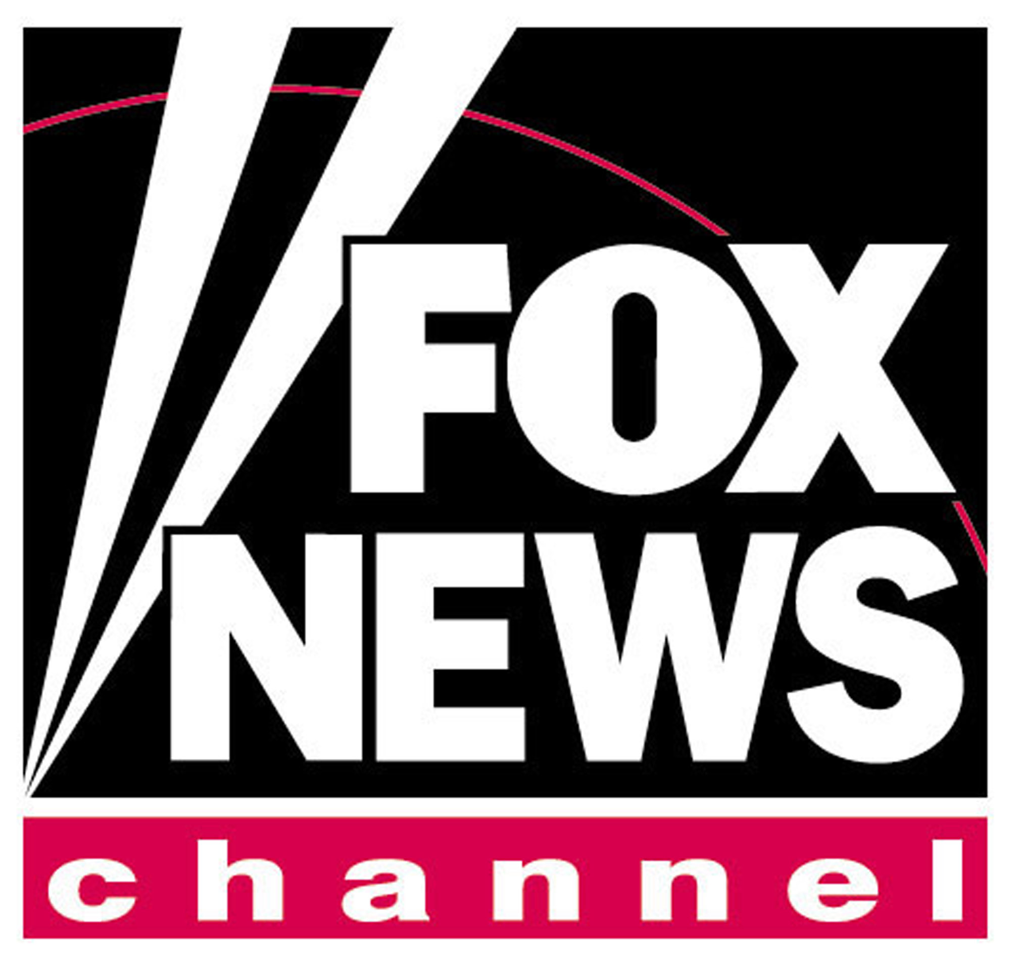 Library of fox news channel logo image black and white.