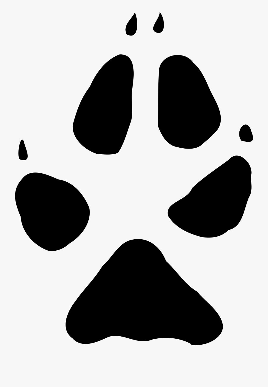 Fox Paw Print Png , Free Transparent Clipart.
