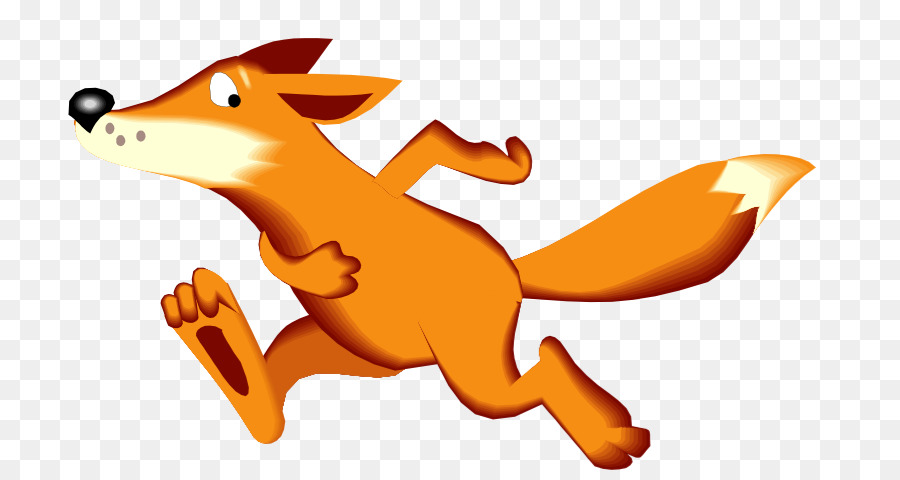 Free Running Fox Silhouette, Download Free Clip Art, Free.