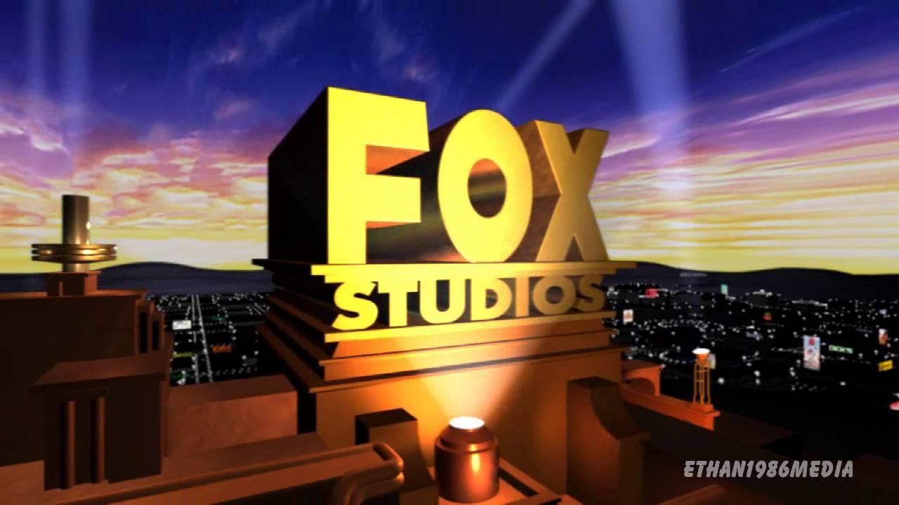 Fox Studios logo 2000 Blender Remake.