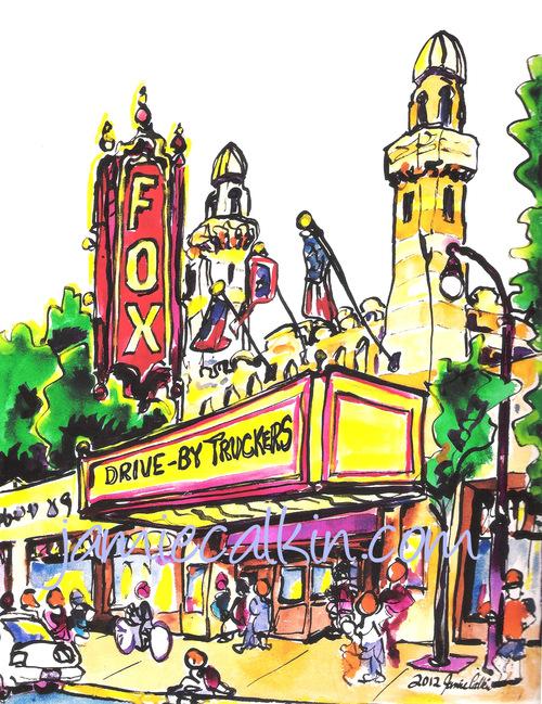 Fox Theatre — Jamie Calkin.