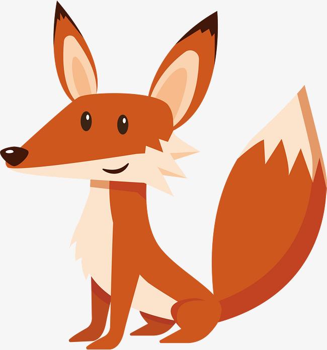 A Clever Little Fox, Fox Vector, Fox Cli #103700.