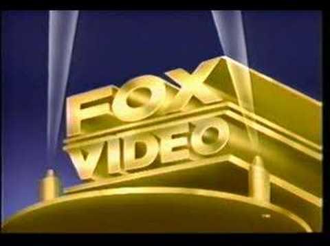 Fox Video Logo.