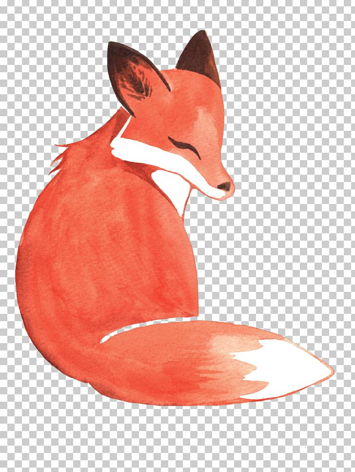 Watercolor Painting Fox PNG, Clipart, Animal, Animals, Art.