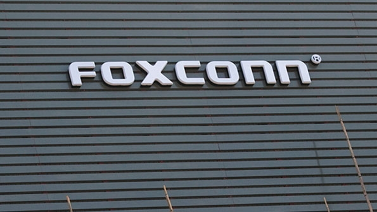 Foxconn Workers Strike at China Factory.