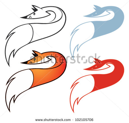 Fox Tail Stock Images, Royalty.