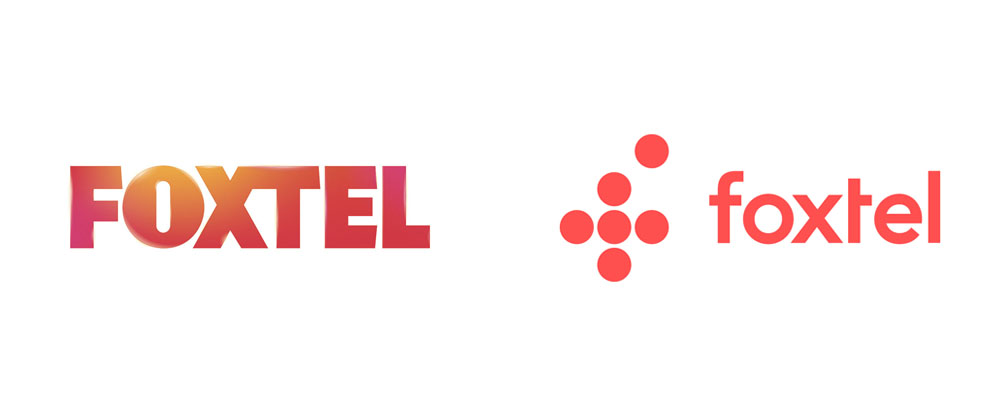 Brand New: New Logo for Foxtel by MAUD.