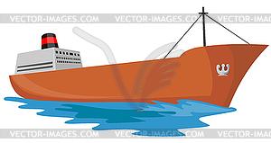 Frachtschiff Schiff Retro.
