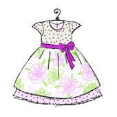 Baby Dress Clip Art.