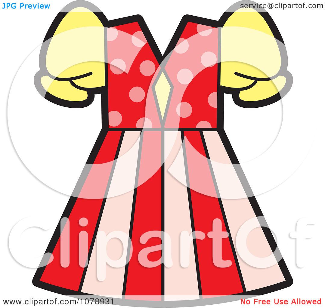 Clipart Girls Dress.