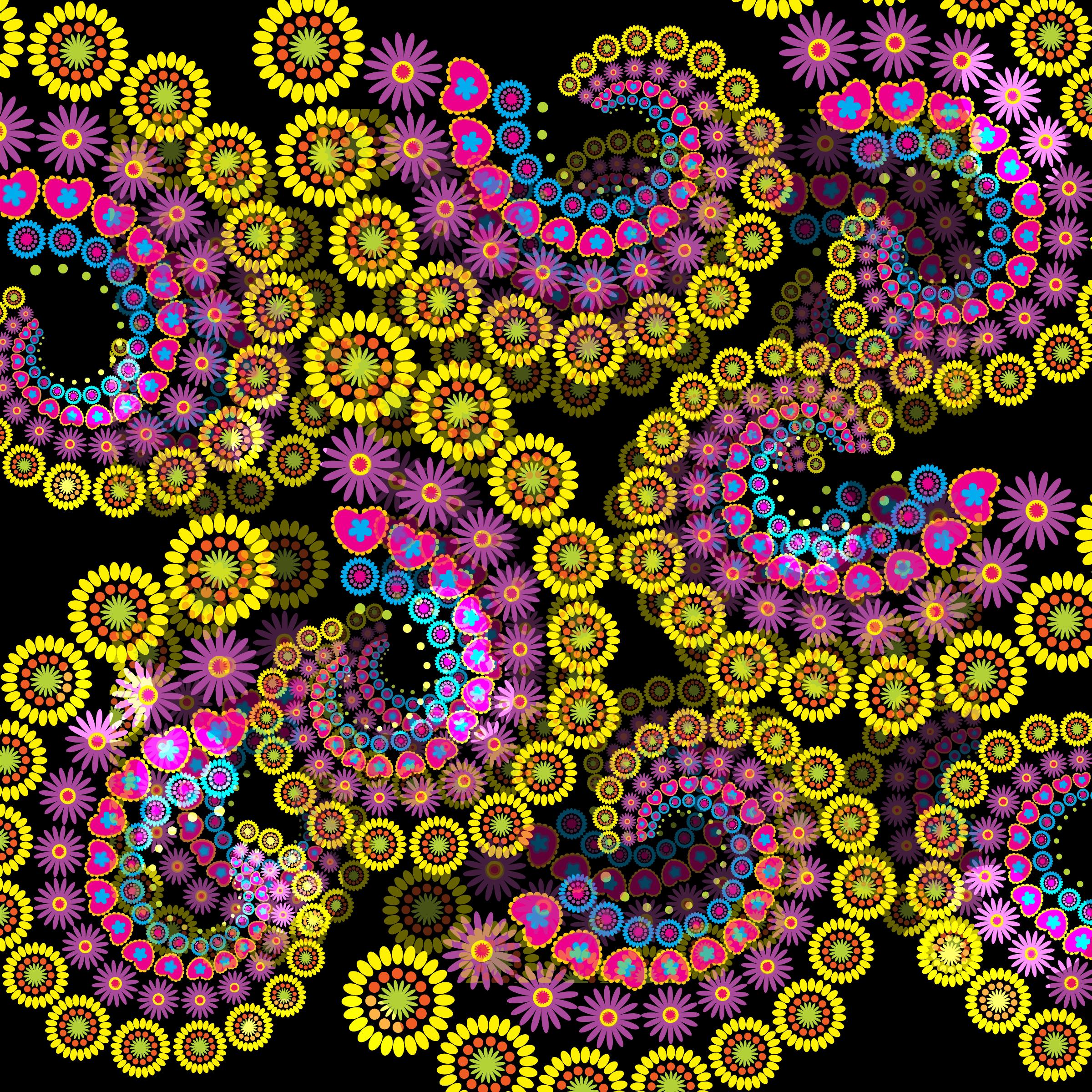 Clipart fractal.