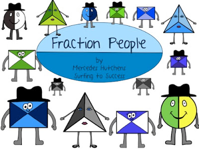 Fraction Clipart.