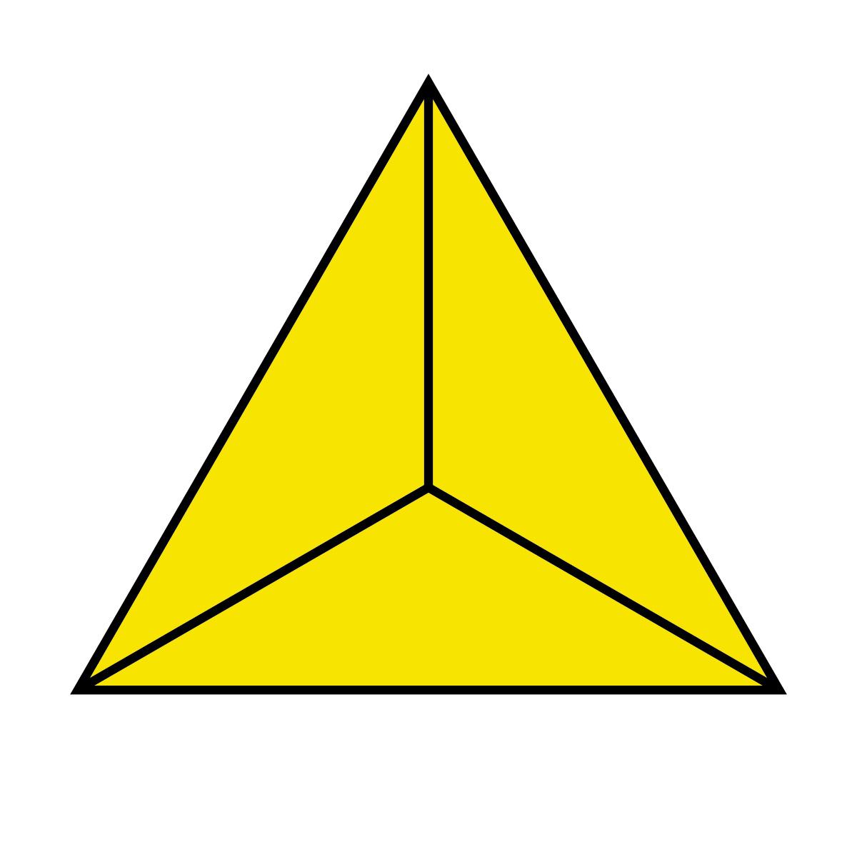 Clip Art: Polygon 05 1/5 Color.