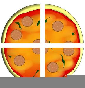 Pie Fraction Clipart.