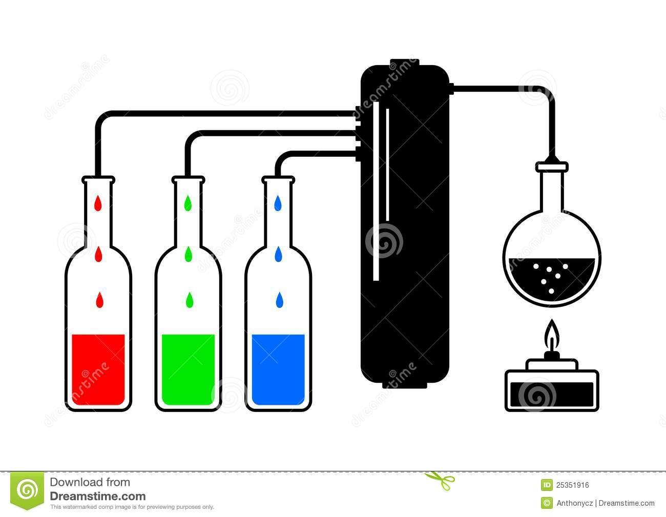 Distillation Stock Illustrations.
