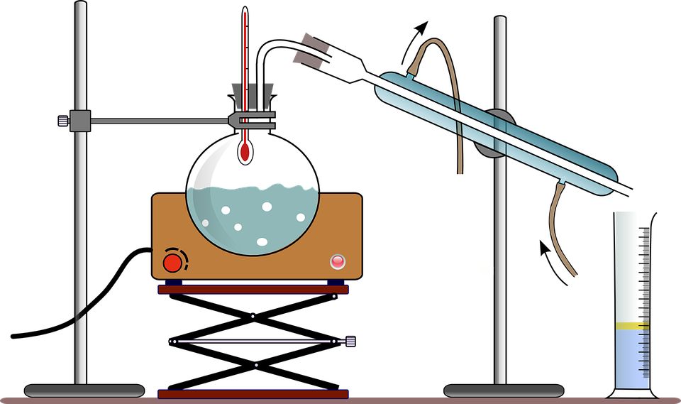 Free vector graphic: Fractional Distillation, Chemistry.