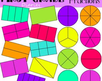fractions clip art.