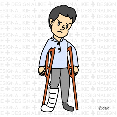 Fracture Clipart.