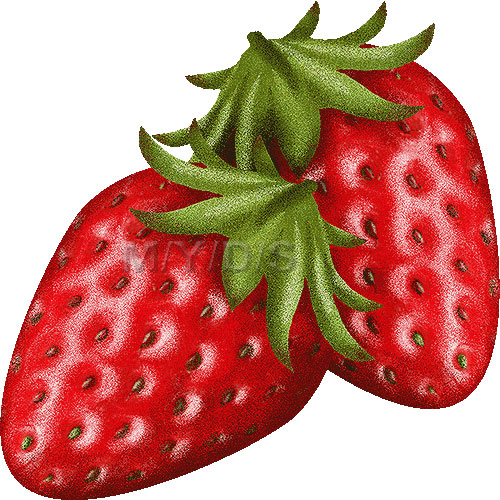 Strawberry, Fragaria clipart / Free clip art.