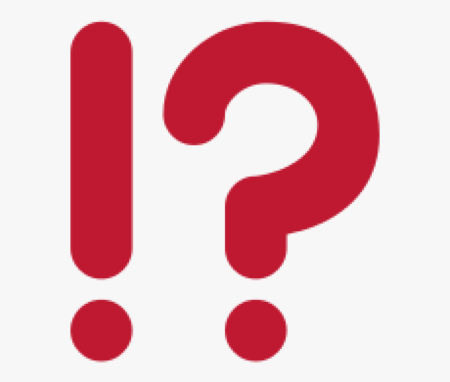Emoji Bstehend Aus Einem Rufezeichen Und Einem Fragezeichen.