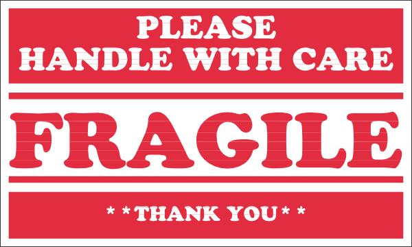 Clipart fragile sign.